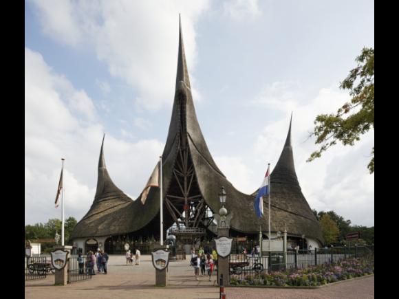 Efteling en efteling hotel architectuurgids midden brabant - Ingang van het hedendaagse huis ...